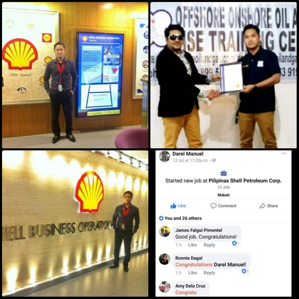 What they say - Offshore Onshore Oil and Gas HSE Training Center