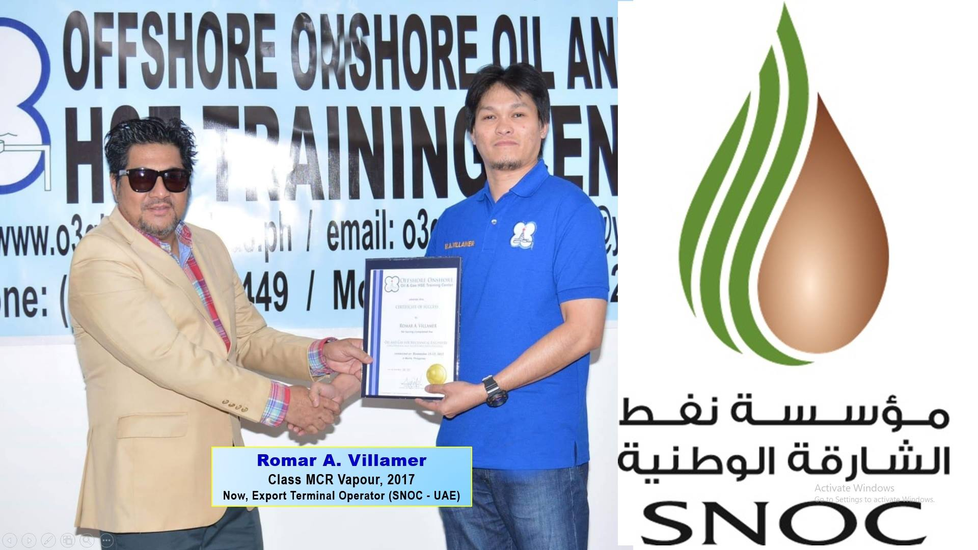 Latest Update - Offshore Onshore Oil and Gas HSE Training Center